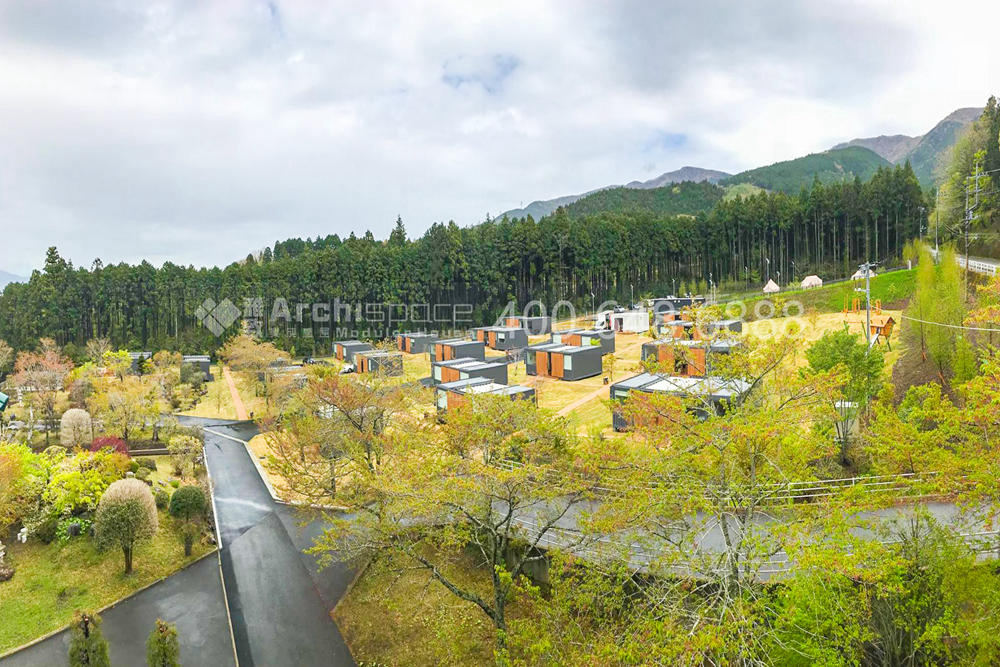 Camping Resort Under Mt Fuji