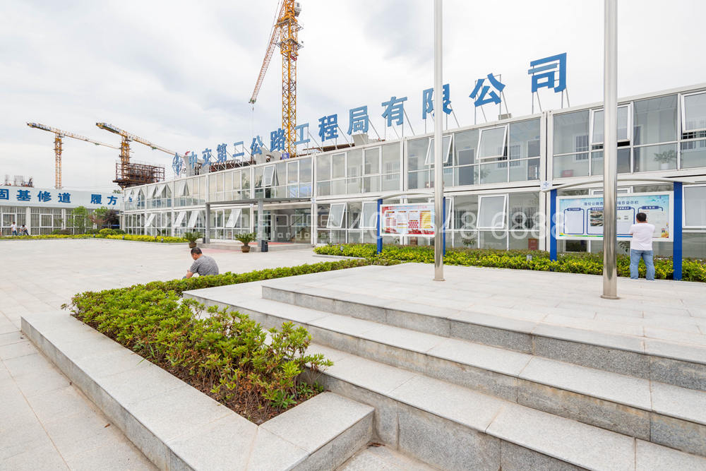 Puyi Highway Construction Site by CCCC Second Highway Engineering Co., Ltd